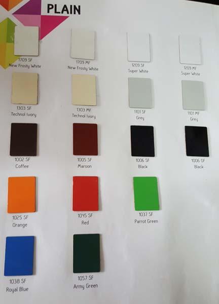 Plain Sunmica Sheets