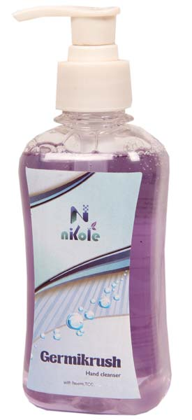Nikole Germikrush Hand Cleanser