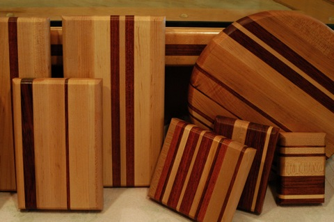 Handcrafted Wooden Boards