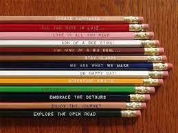 Writing Pencils