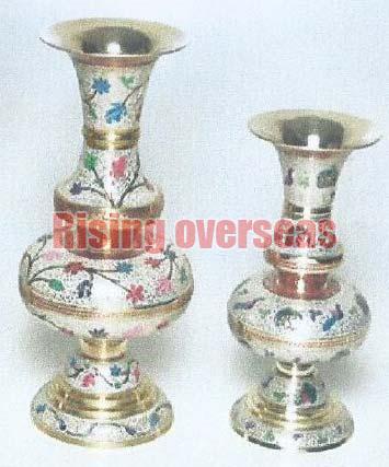 Brass Flower Vases 03