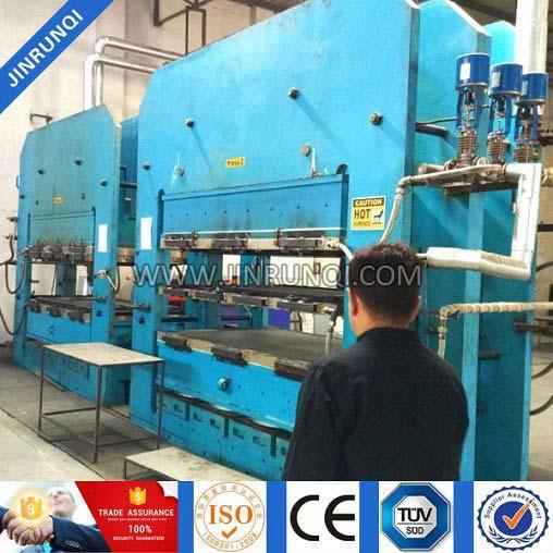Rubber Mat Machine Plate Vulcanizing Press Machine Rubber Vulcanizer