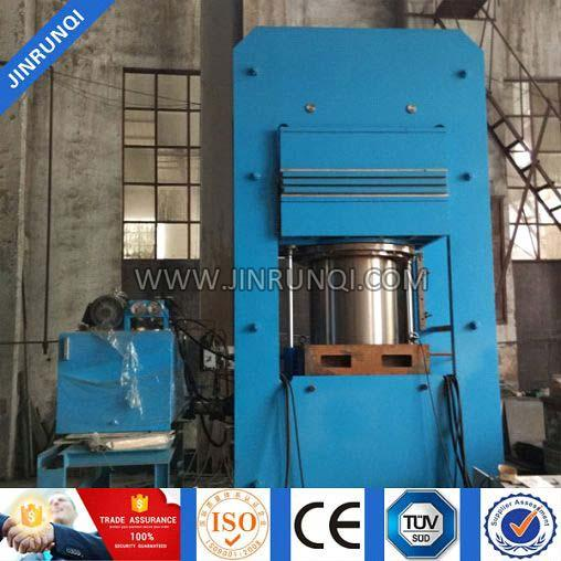 Solid Tyre Curing Vulcanizing Press Machine