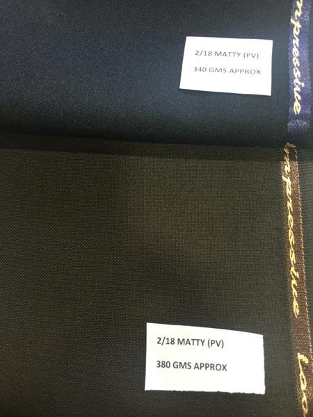 Matty Dyed Fabric