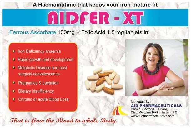 Aidfer-XT Tablets