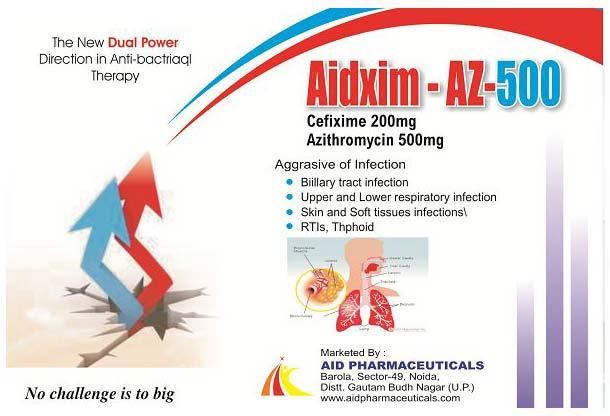 Aidxim-AZ-500 Tablets