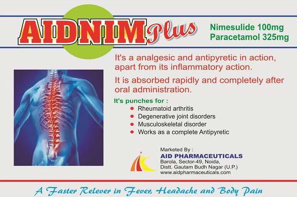 Aidnim Plus Tablets