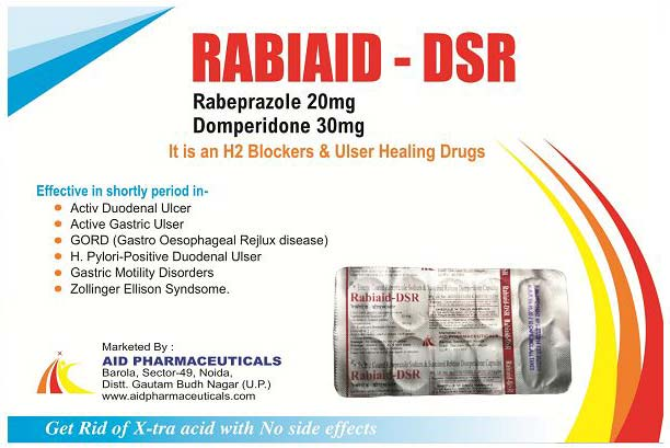 Rabiaid-DSR Tablets