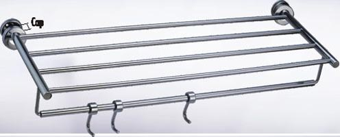 AISI 304 Stainless Steel Towel Racks (SN 1151 Round Pattern)