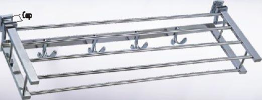 AISI 304 Stainless Steel Towel Racks (SN1153 Rectangular Pattern)