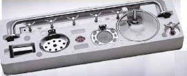 SN 250 BS Stainless Steel Bathroom Set (SNJ4-250 BS)