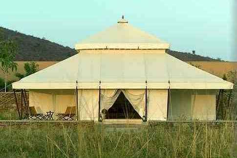 Luxury Mughal Tent