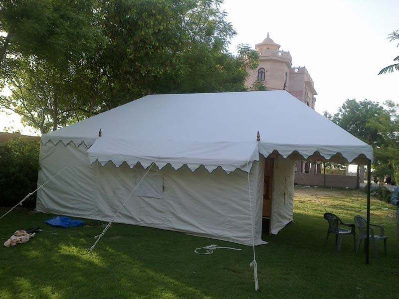 Luxury Swiss Cottage Tent 01