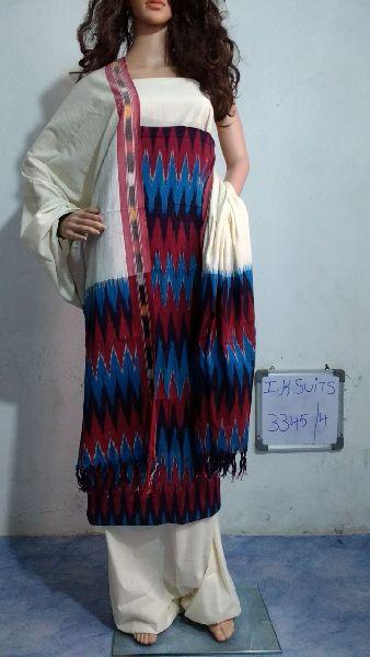 Handmade Ikkat Dress Materials 02