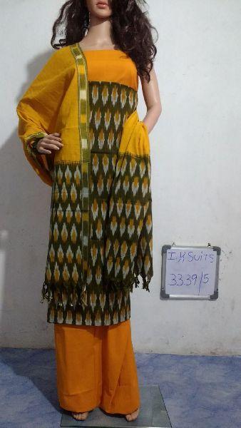 Handmade Ikkat Dress Materials 03