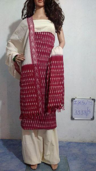 Handmade Ikkat Dress Materials 04