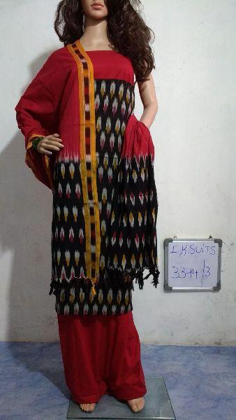 Handmade Ikkat Dress Materials 05