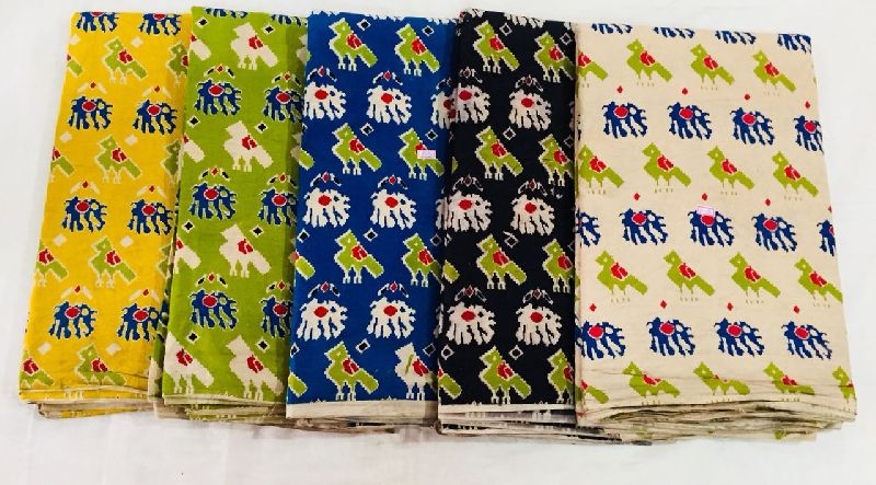 Kalamkari Cotton Fabric 03