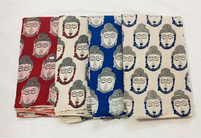 Kalamkari Cotton Fabric 04