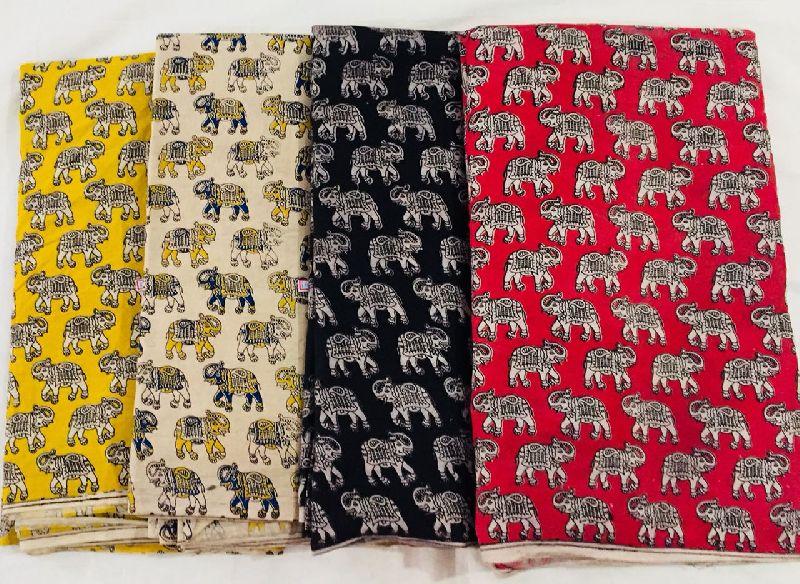 Kalamkari Cotton Fabric 06