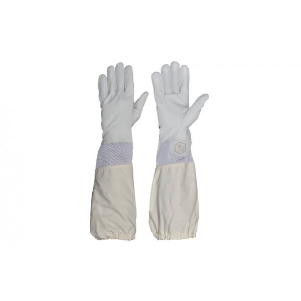Breathable Leather Beekeeping Gloves