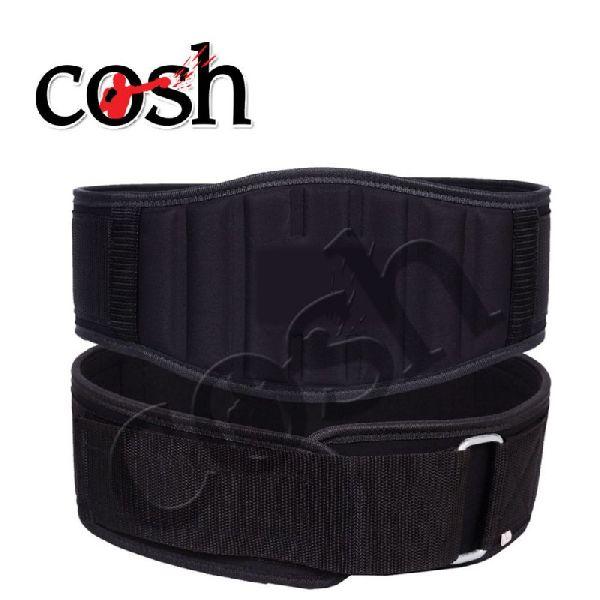 Black Neoprene Weightlifting Belt