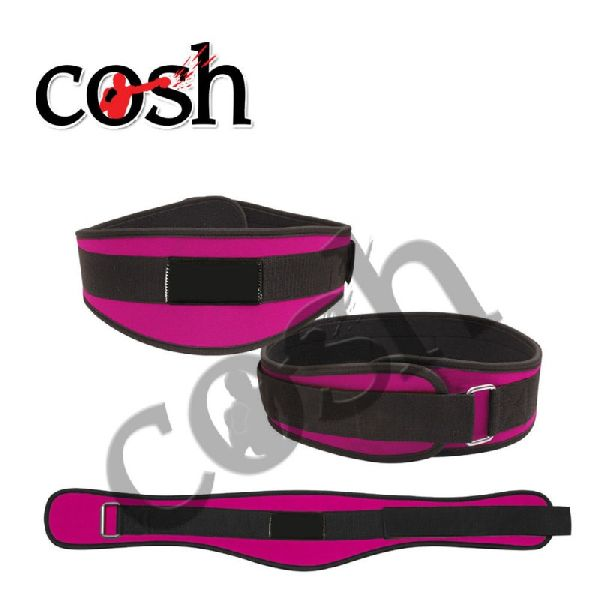 Purple & Black Neoprene Weightlifting Belt