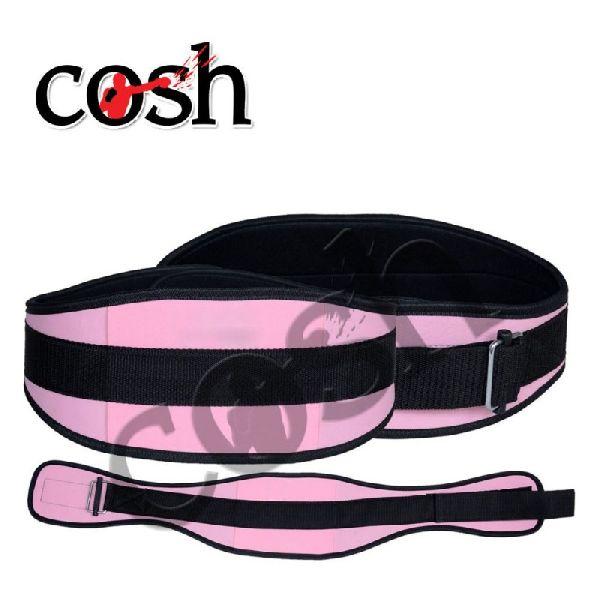 Pink & Black Neoprene Weightlifting Belt