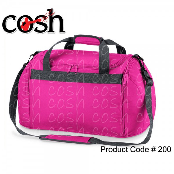 Pink Gym Duffle Bag