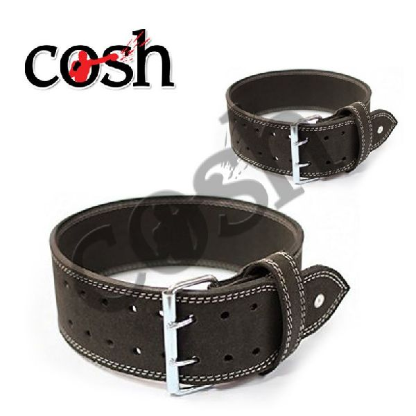 Split Leather Weightlifting Belt