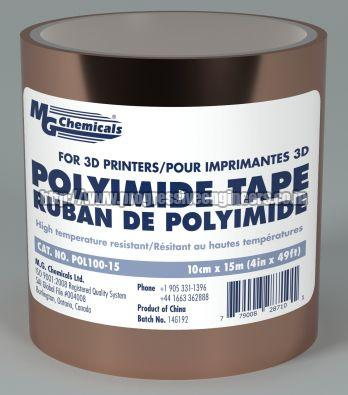 3D Printed Polyimide Tapes
