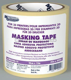 3D Masking Tape Printing