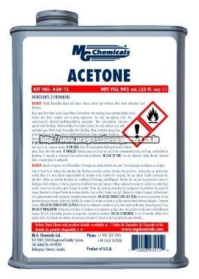 Acetone Thinner (434)