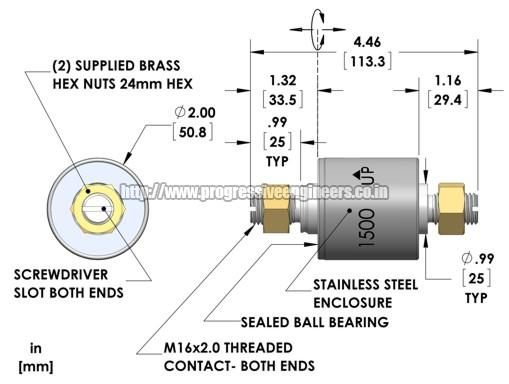 Brushless Slip Ring (1500)