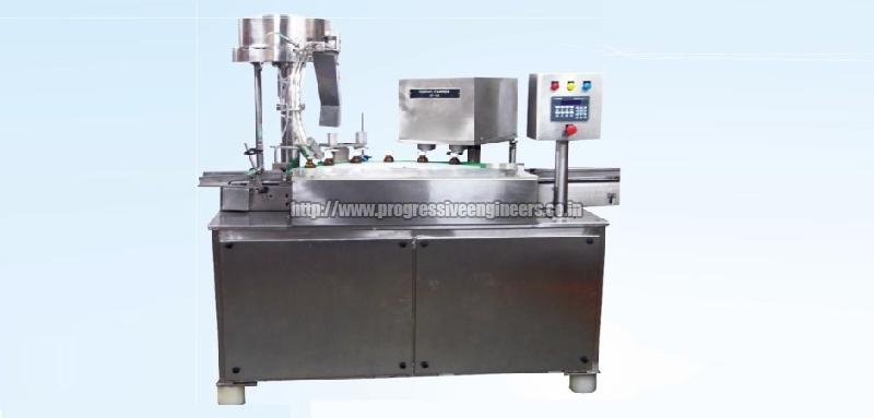 Single Head Servo Rotary Capping Machine