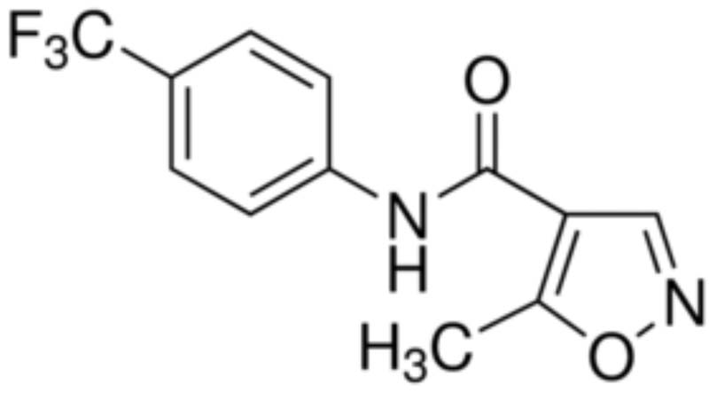 5-Methyl-N-[4-(Trifluoromethyl)Phenyl]-1,3-Oxazole-4 Carboxamide (Leflunomide)