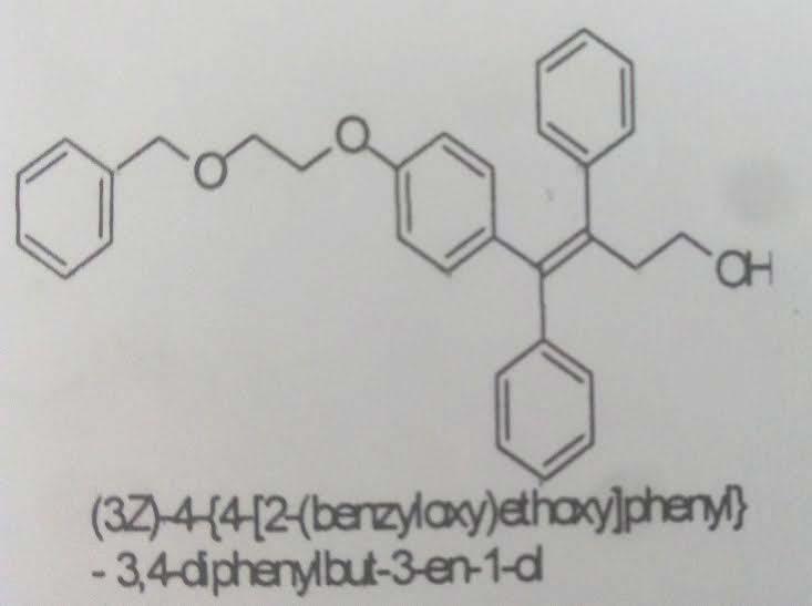 (3Z)-4-(4-{2-(benzyloxy] phenyl}-3, 4-diphenylbut-3-en-1-ol