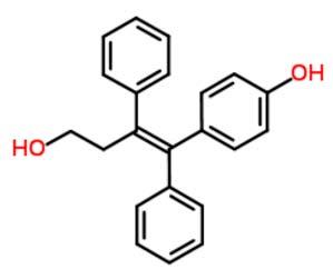 4-[(1Z)-4-Hydroxy-1,2-Diphenyl-1-Buten-1-yl]Phenol