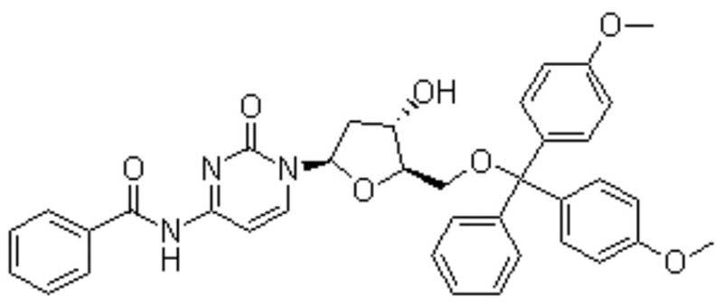 5'-O-(4,4'-Dimethoxytrityl) N4-Benzoyl-2'-Deoxycytidine