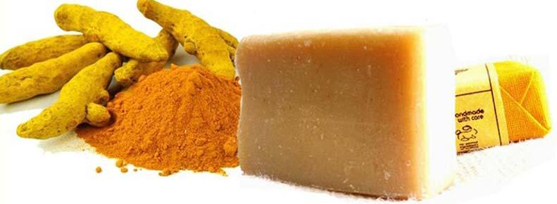 Organic Turmeric Soap
