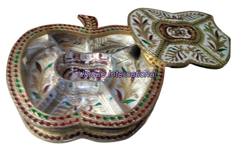 Meenakari Dry Fruit Box