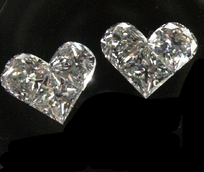 Heart Pie Cut Diamonds
