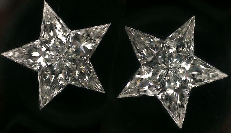 Star Pie Cut Diamonds 01