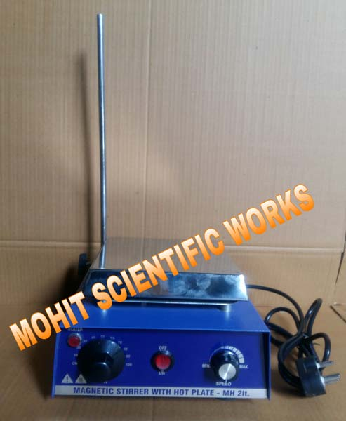 Laboratory Stirrer With Hot Plate