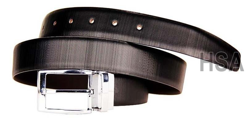 Mens Leather Belt (G58907REV)