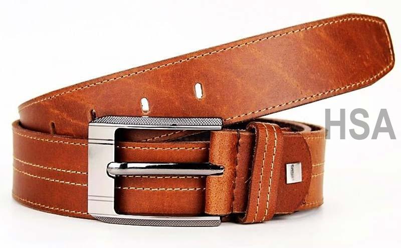 Mens Leather Belt (G58920TAN)