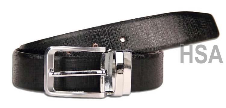 Mens Leather Belt (G58928REV)