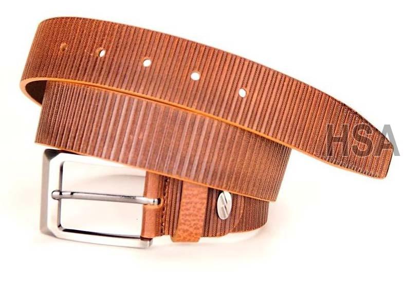 Mens Leather Belt (G58953TAN)