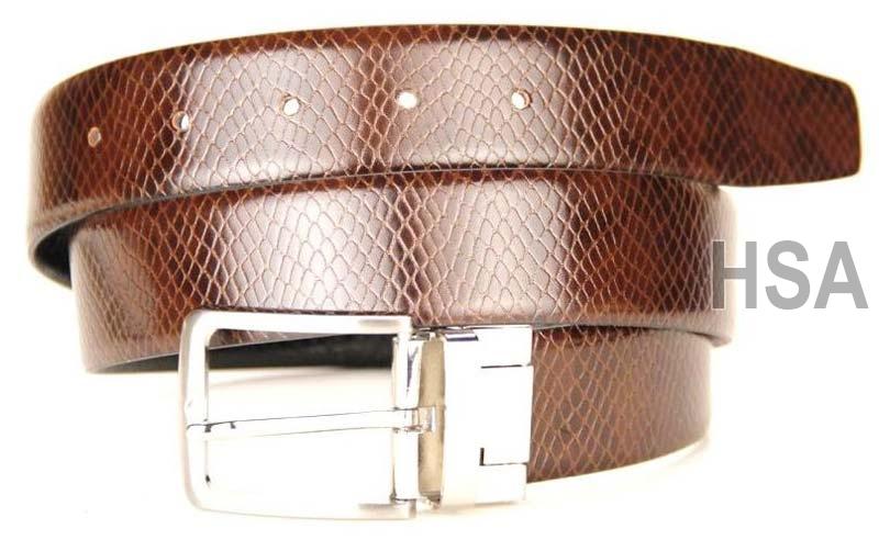 Mens Leather Belt (G58967REV)