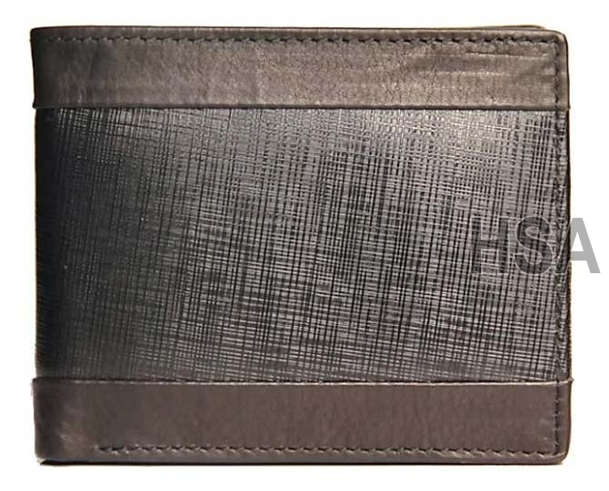 Mens Leather Wallet (F65907)